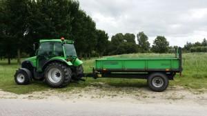 In Noord-Holland doet Snoek handelsonderneming ook grondverzet.